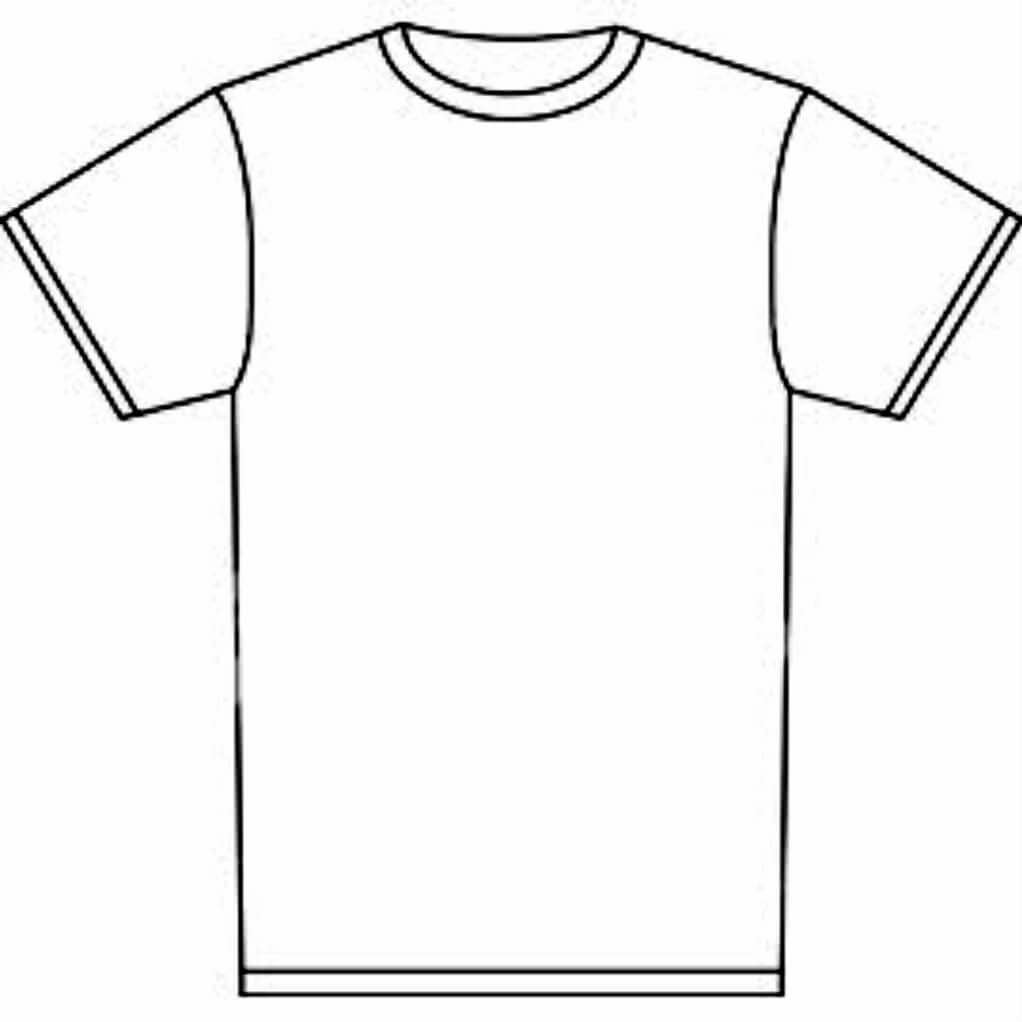 Free T Shirt Template Printable, Download Free Clip Art Within Blank Tshirt Template Printable
