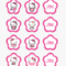Hello Kitty Cupcake Topper Template, Hd Png Download – Kindpng Regarding Hello Kitty Banner Template