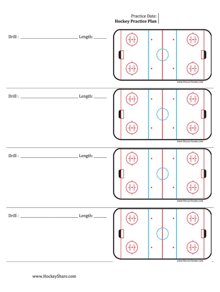 Hockey Practice Sheeyts - Fill Online, Printable, Fillable Regarding Blank Hockey Practice Plan Template