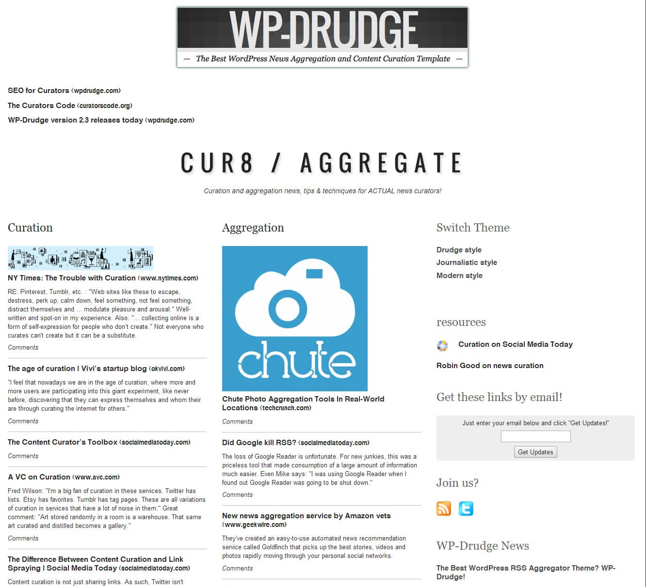 How To Create A Drudge Report Clone Using Wp Drudge - Wp Mayor Within Drudge Report Template
