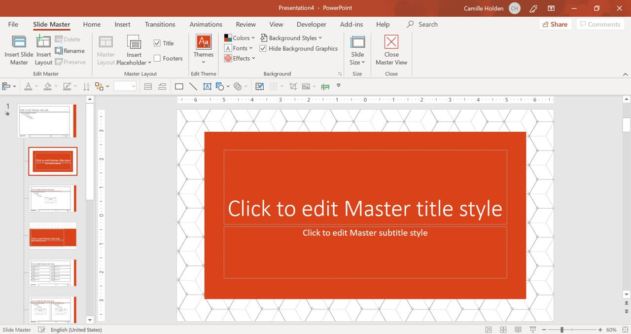How To Create A Powerpoint Template (Step By Step) With Regard To Blank Scheme Of Work Template