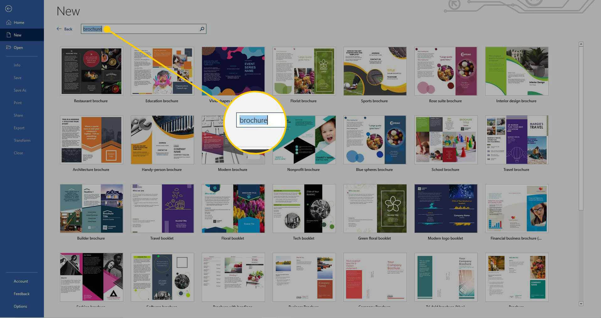 How To Make A Brochure On Microsoft Word Pertaining To Microsoft Word Pamphlet Template