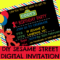 How To Make A Sesame Street Digital Invitation | Includes Regarding Sesame Street Banner Template