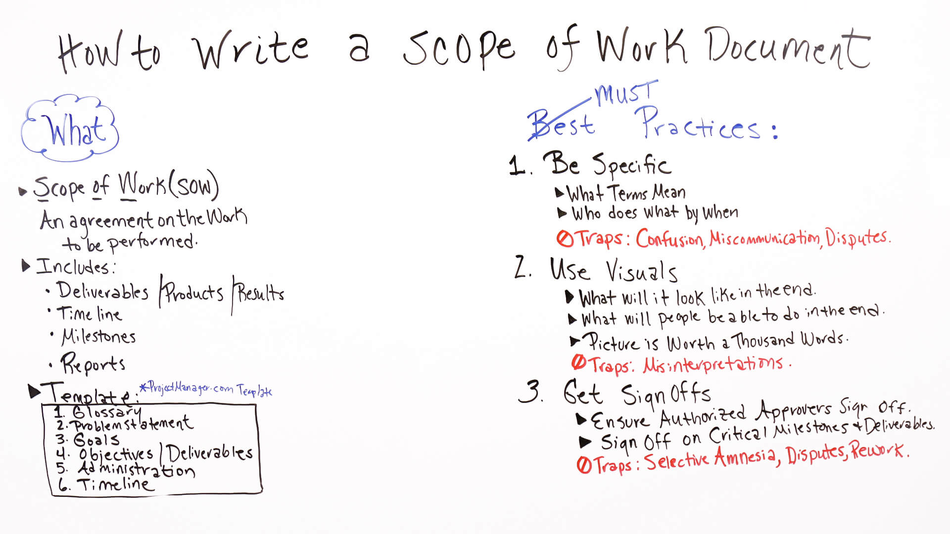 How To Write A Scope Of Work (Example Included For How To Write A Work Report Template