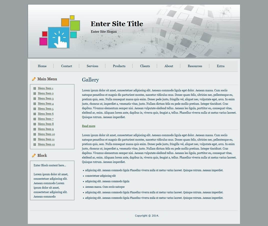 Html Templates With Regard To Blank Html Templates Free Download