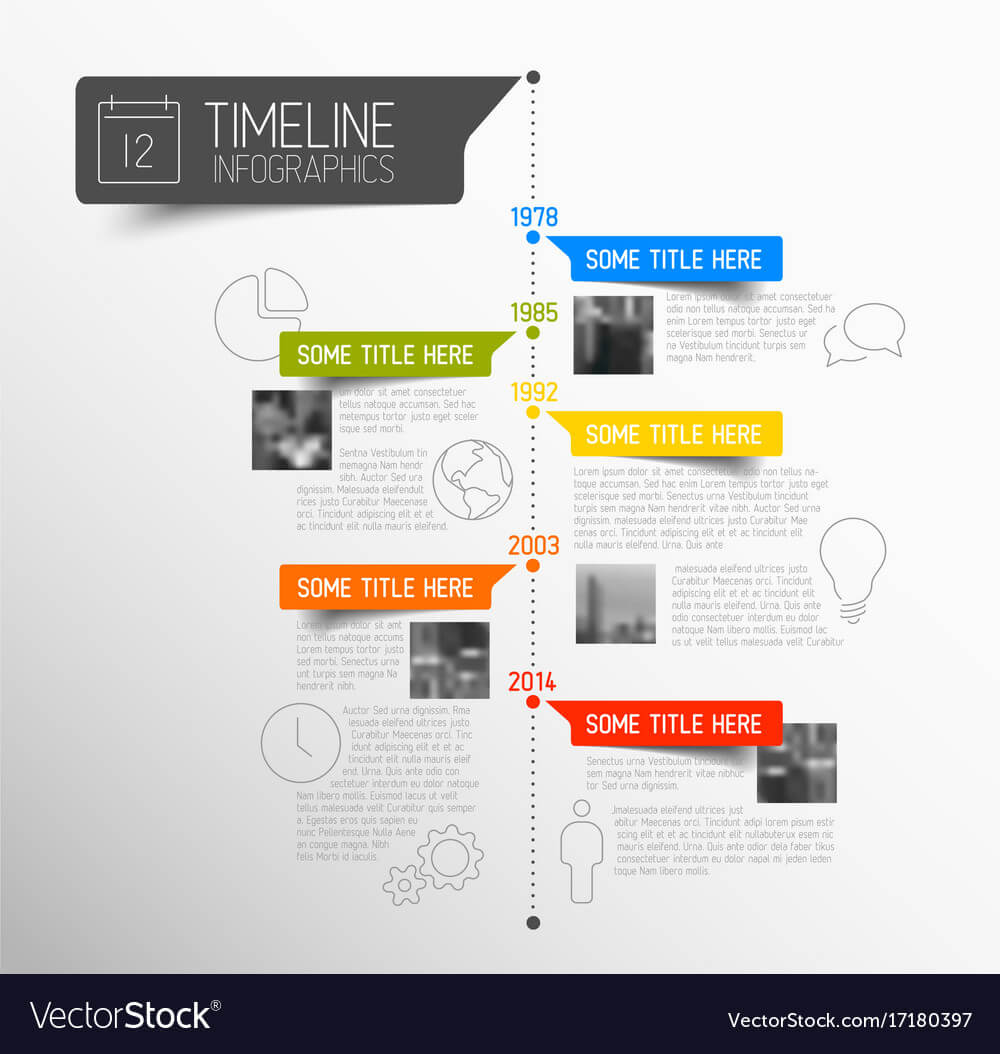 Infographic Timeline Report Template Intended For Mi Report Template