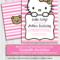 Invitation Hello Kitty – Tunu.redmini.co Inside Hello Kitty Birthday Banner Template Free
