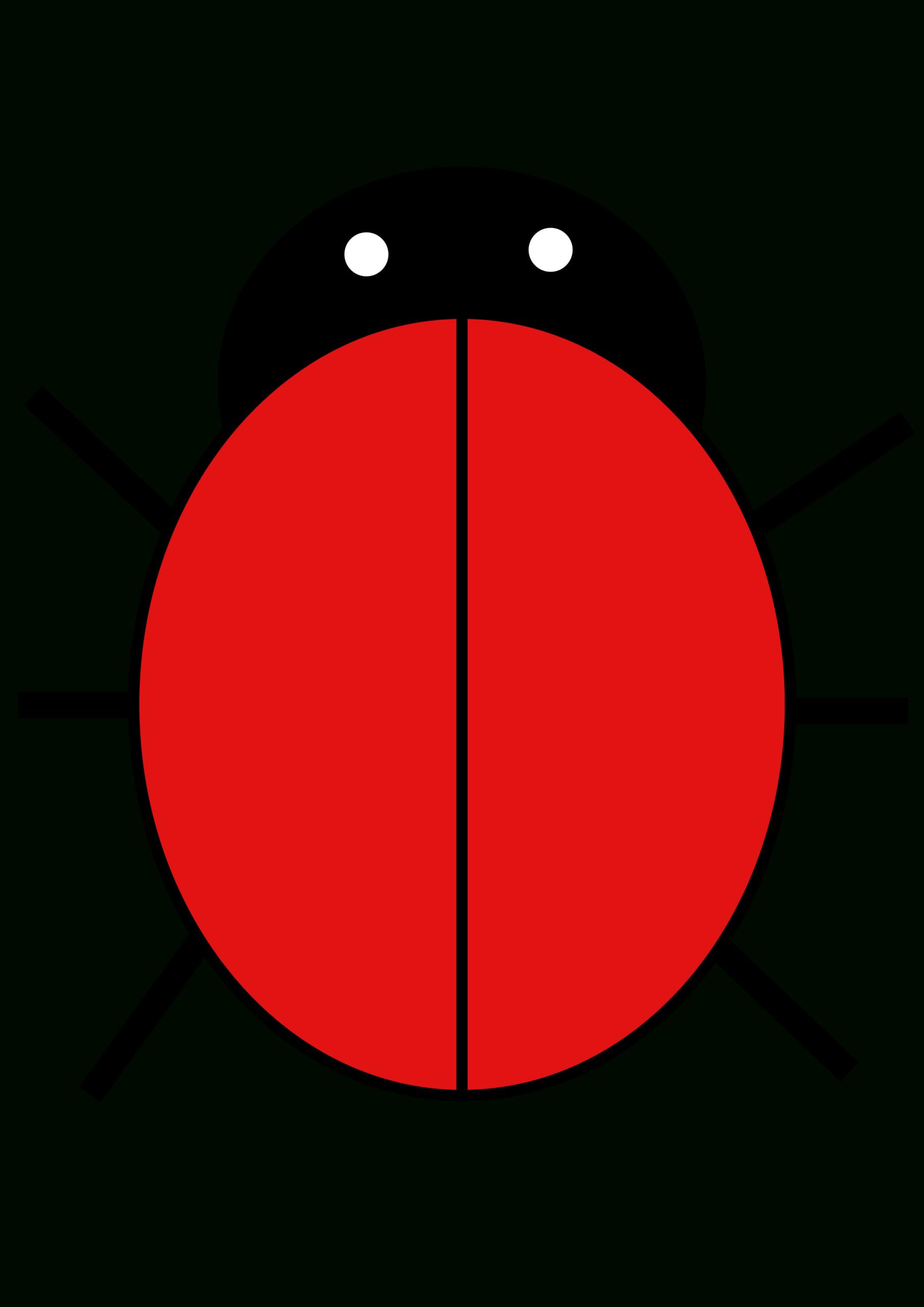 Ladybird | Free Images At Clker - Vector Clip Art Online Regarding Blank Ladybug Template