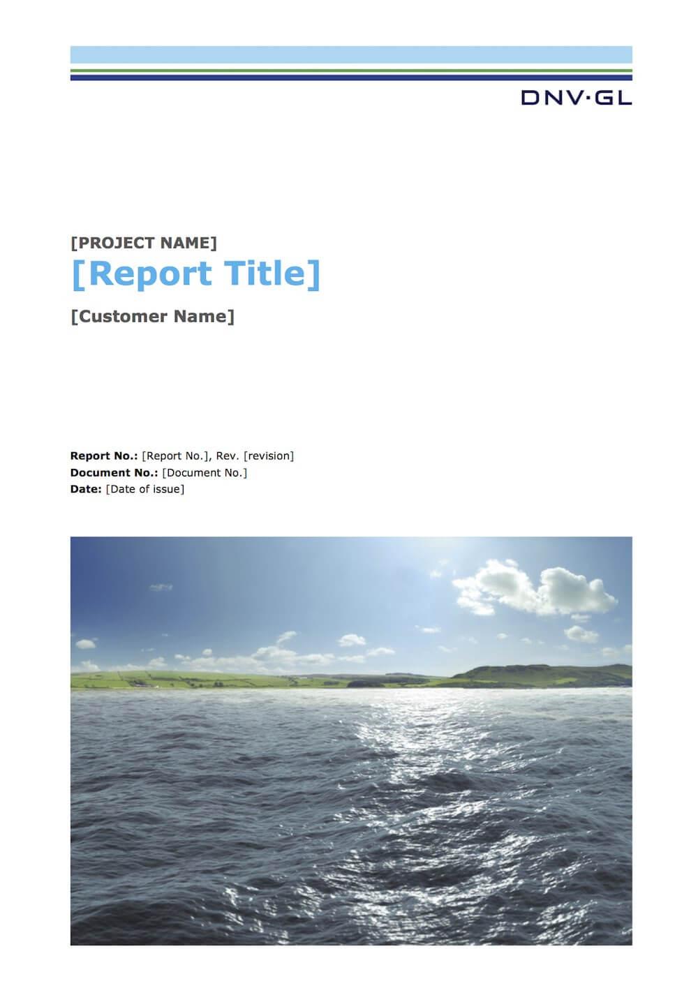 Latex Typesetting - Showcase Regarding Project Report Latex Template