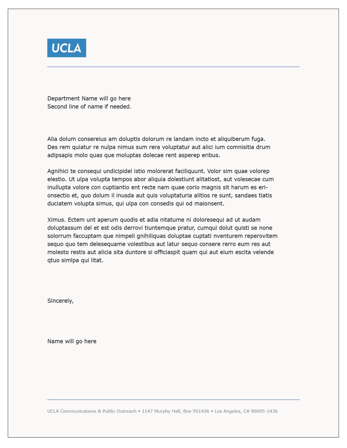 Letterhead Template Word - Fotolip Pertaining To Headed Letter Template Word