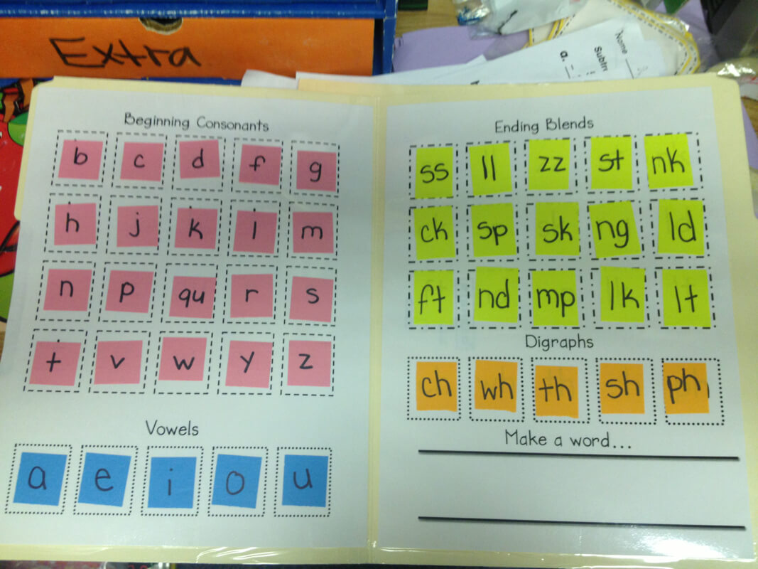 Lively Learners Blog - Learning Laboratory! Intended For Making Words Template