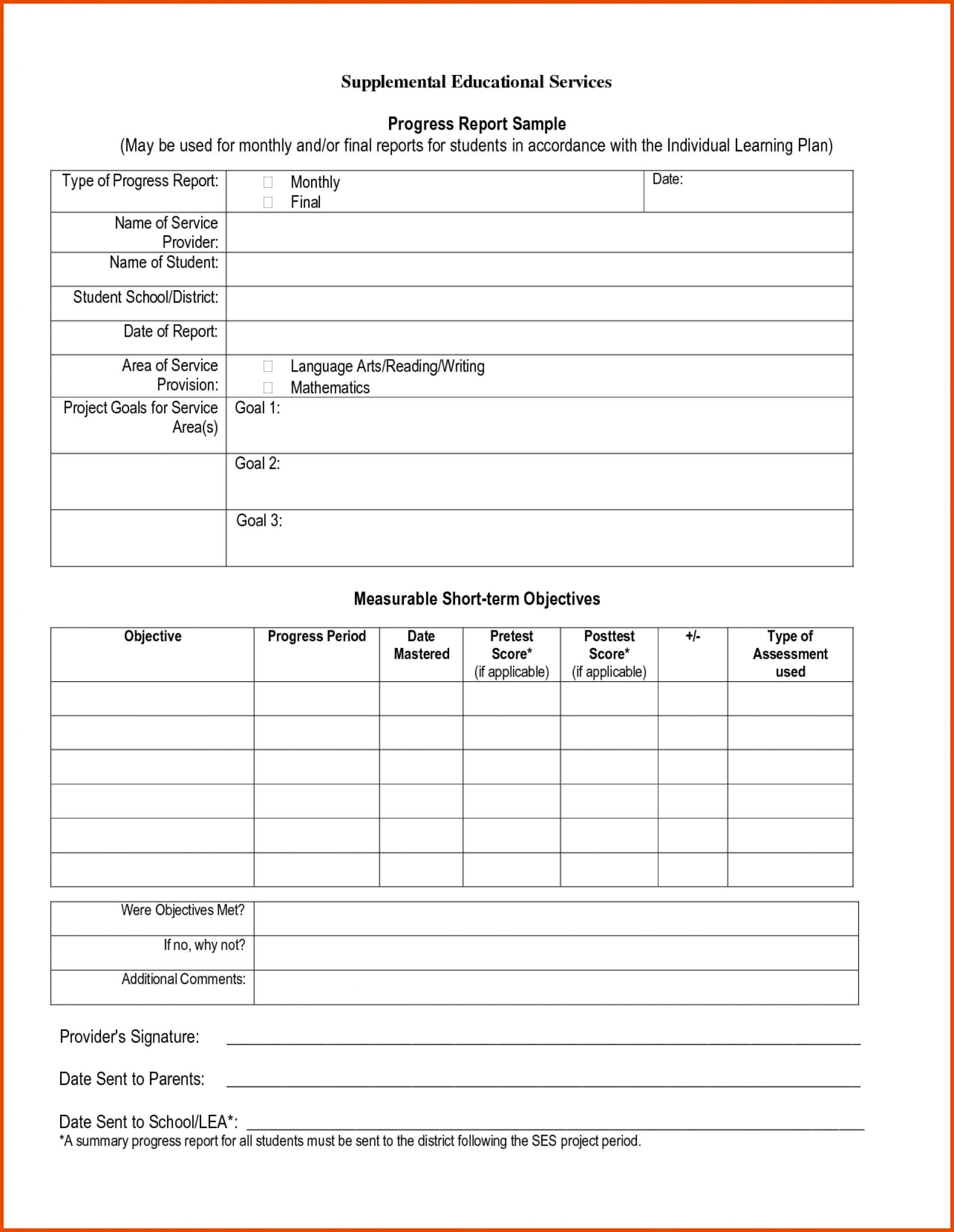Marvelous Deped Junior High School Report Card Template For Middle School Report Card Template