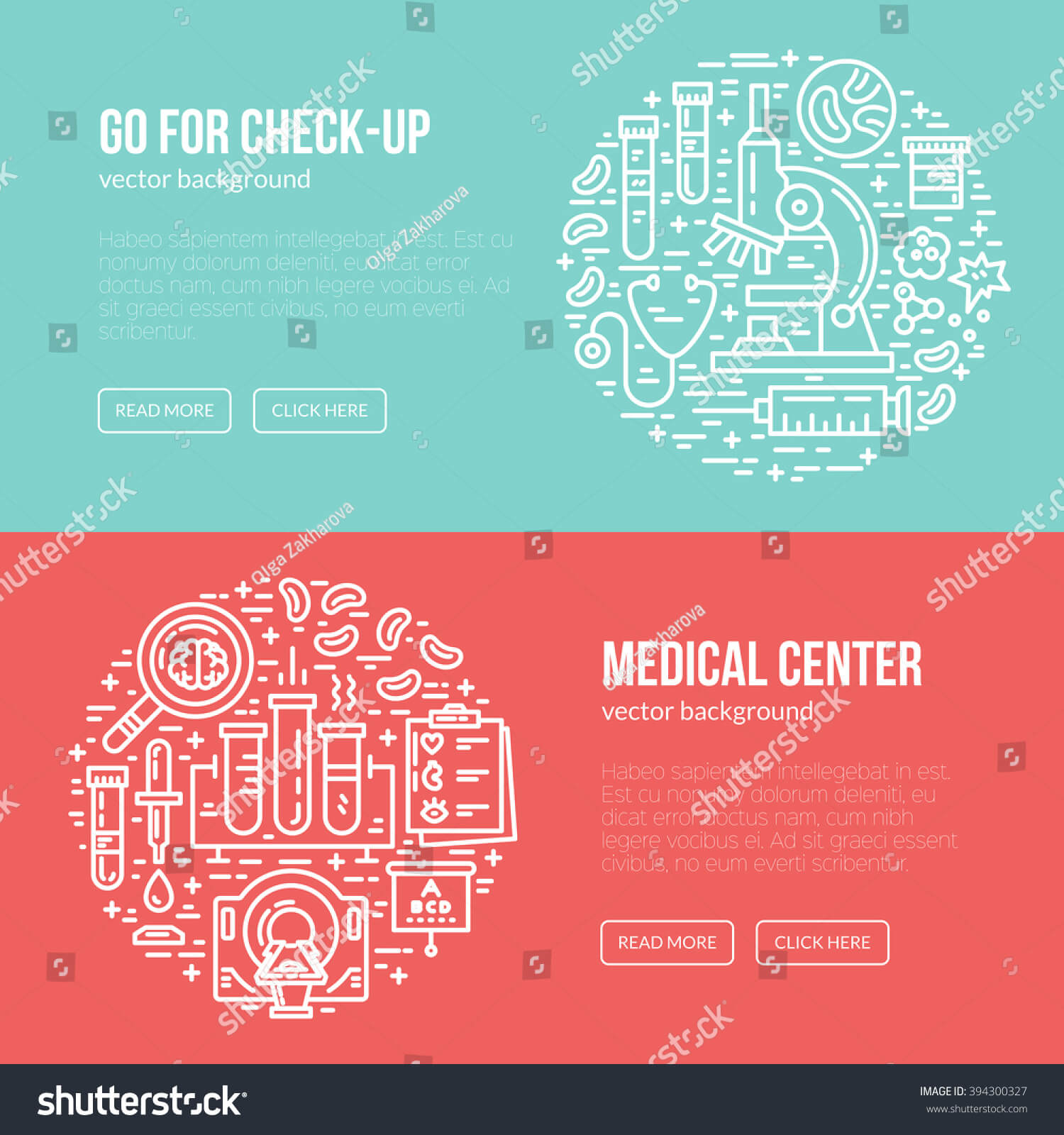 Medical Banner Design Template Different Research Stock With Medical Banner Template