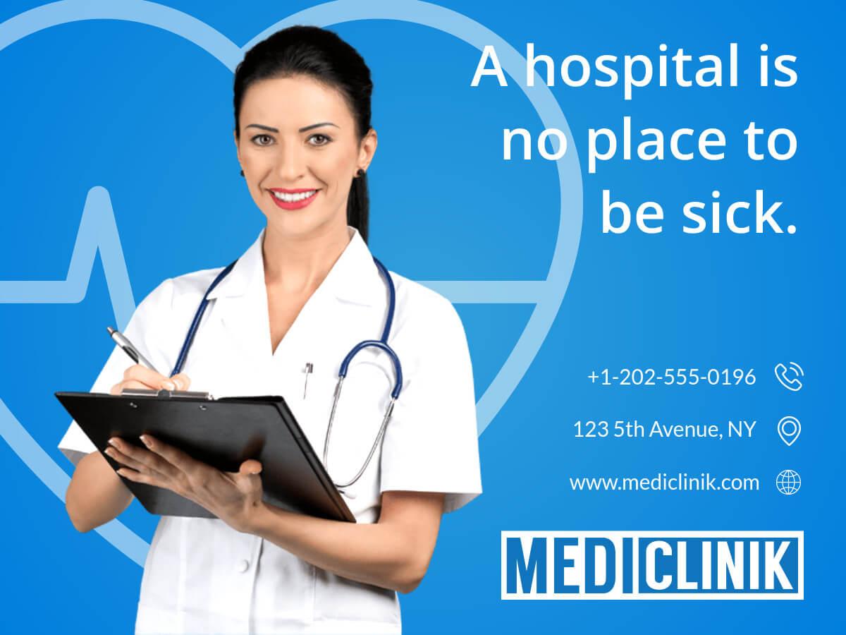 Medical Care Clinic Banner Template Regarding Medical Banner Template