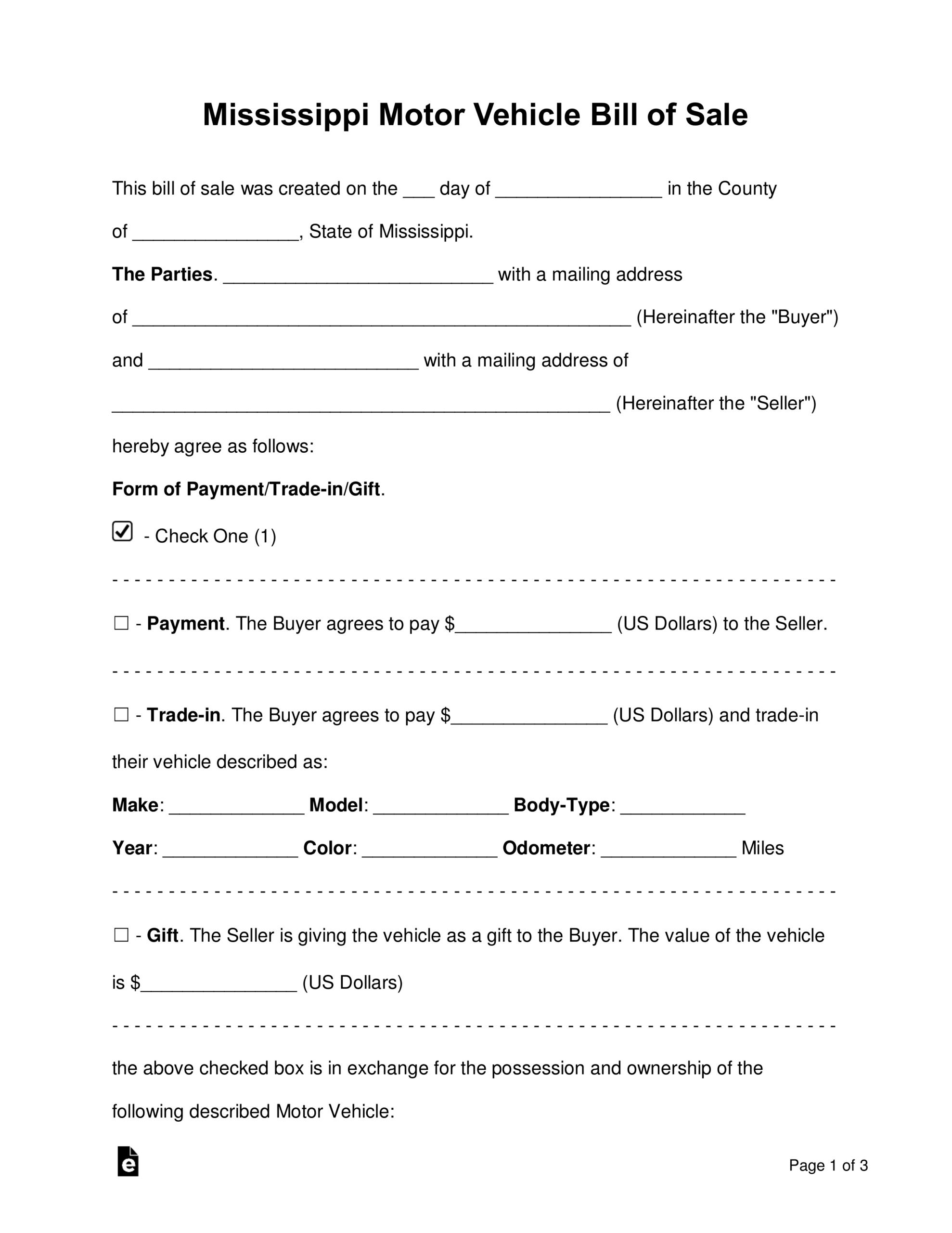 Microsoft Bill Of Sale Templates - Tunu.redmini.co Inside Car Bill Of Sale Word Template