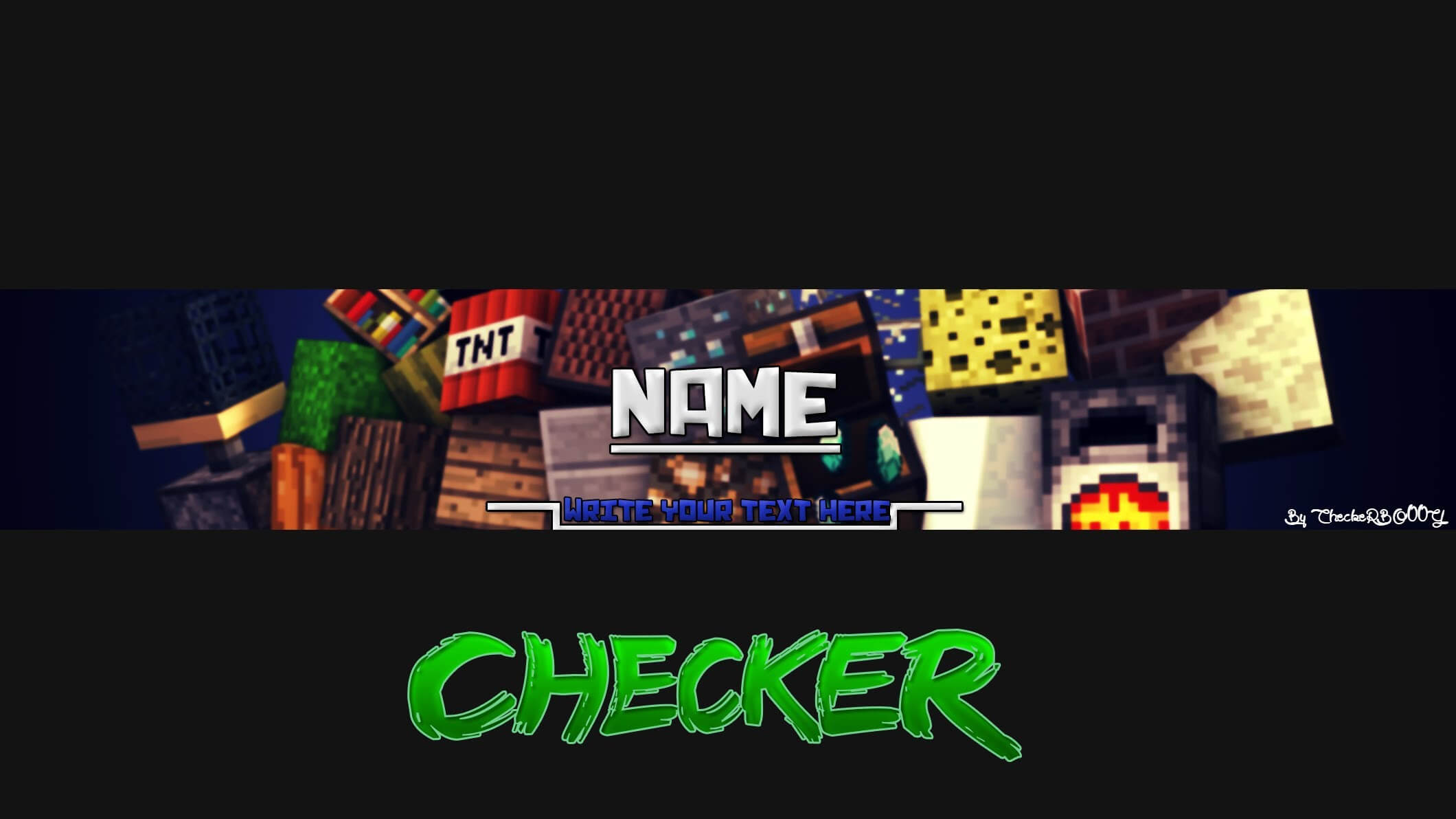 Minecraft Youtube Banner Pertaining To Minecraft Server Banner Template