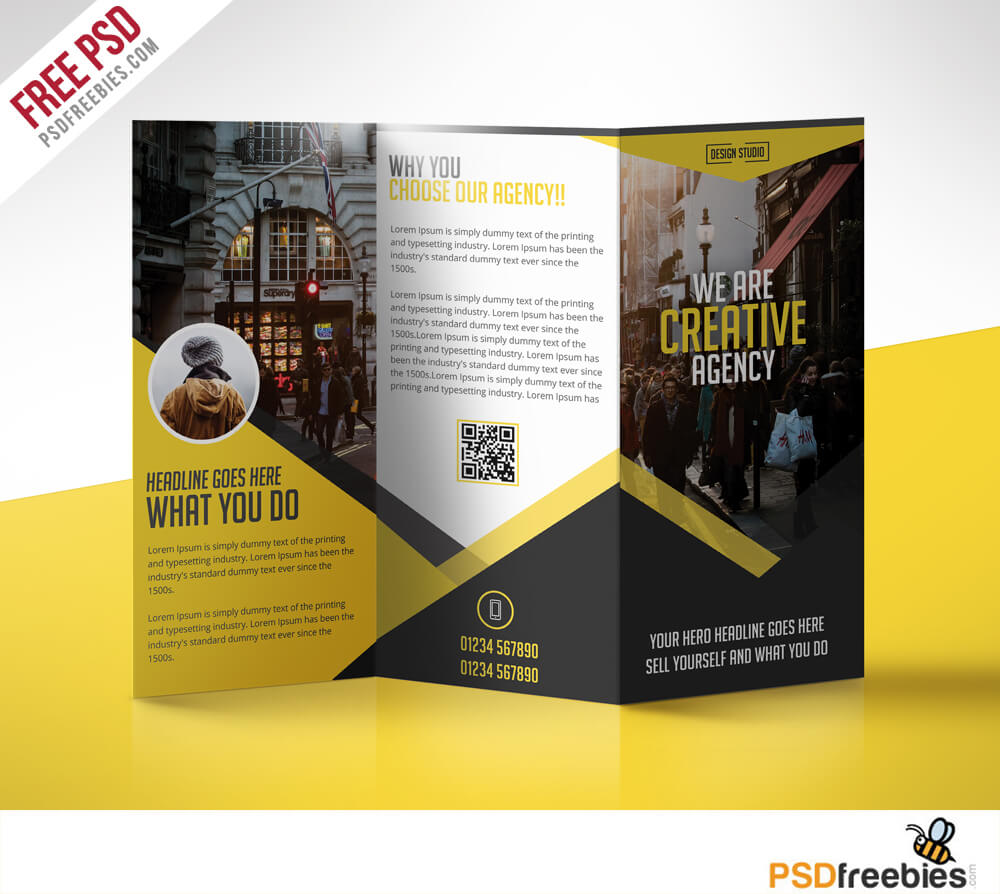 Multipurpose Trifold Business Brochure Free Ms Word Brochure In Free Business Flyer Templates For Microsoft Word