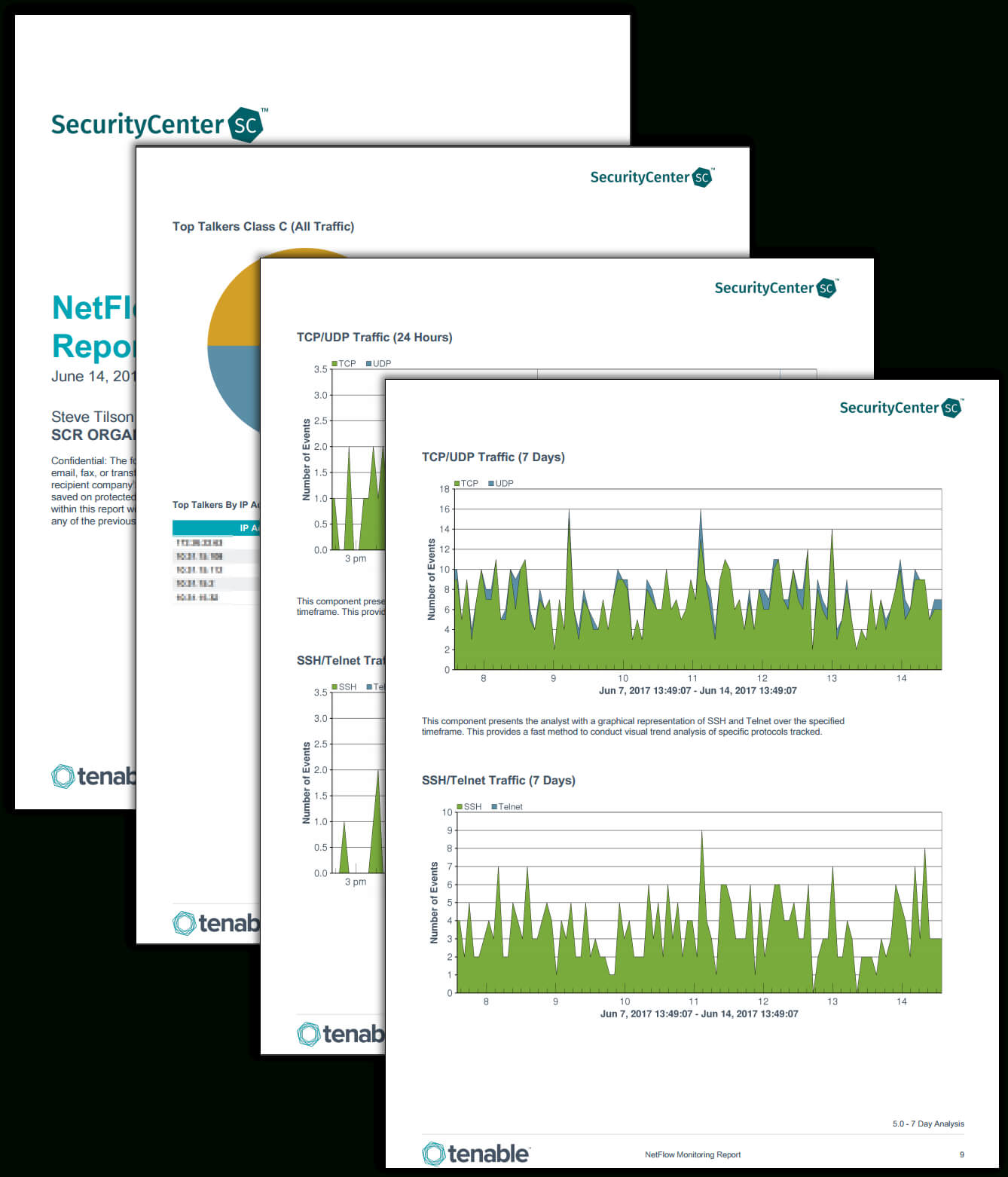 Netflow Monitor Report – Sc Report Template   Tenable® Throughout Network Analysis Report Template