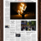 New York Times Newspaper Template In Blank Newspaper Template For Word