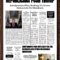 Newspaper Article Template Google Docs Intended For Blank Newspaper Template For Word
