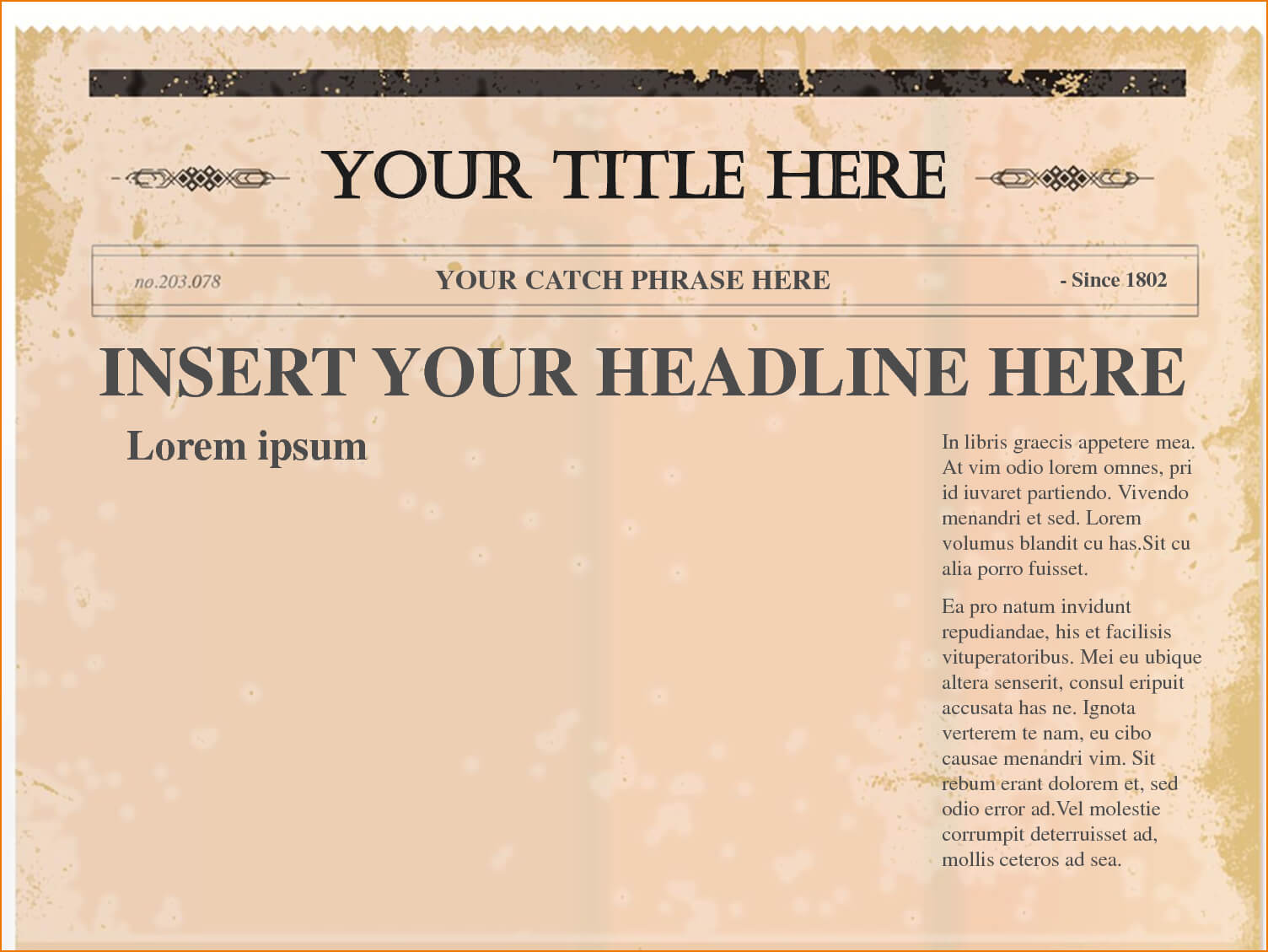 Newspaper Template Png - Tunu.redmini.co With Blank Old Newspaper Template