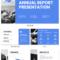 Non Profit Annual Report Presentation Template With Non Profit Annual Report Template