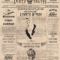 Old Newspaper Article Template Word Photoshop Free Download Inside Old Newspaper Template Word Free