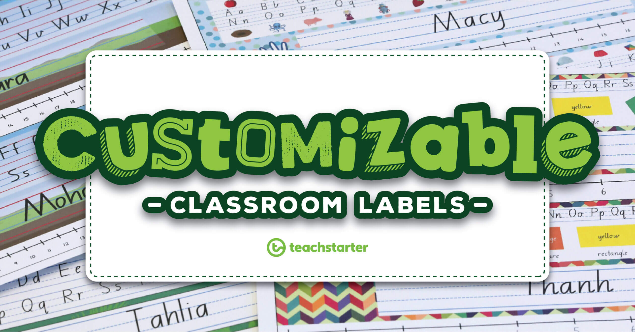 Our Most Popular Customisable Classroom Labels, Signs & Displays Within Classroom Banner Template