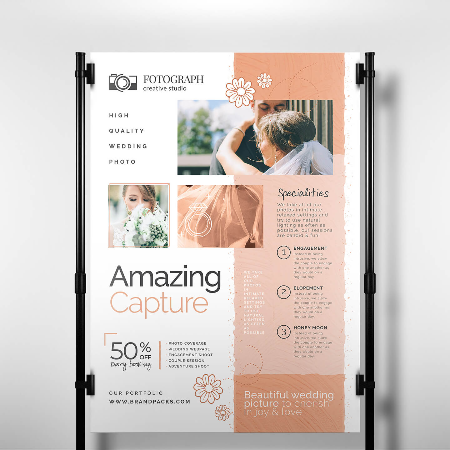 Photography Service Banner Template - Psd, Ai & Vector Intended For Photography Banner Template