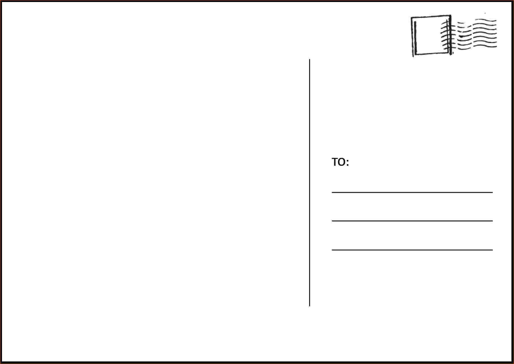 Postcard Template Microsoft Word - Tunu.redmini.co Regarding Microsoft Word 4X6 Postcard Template
