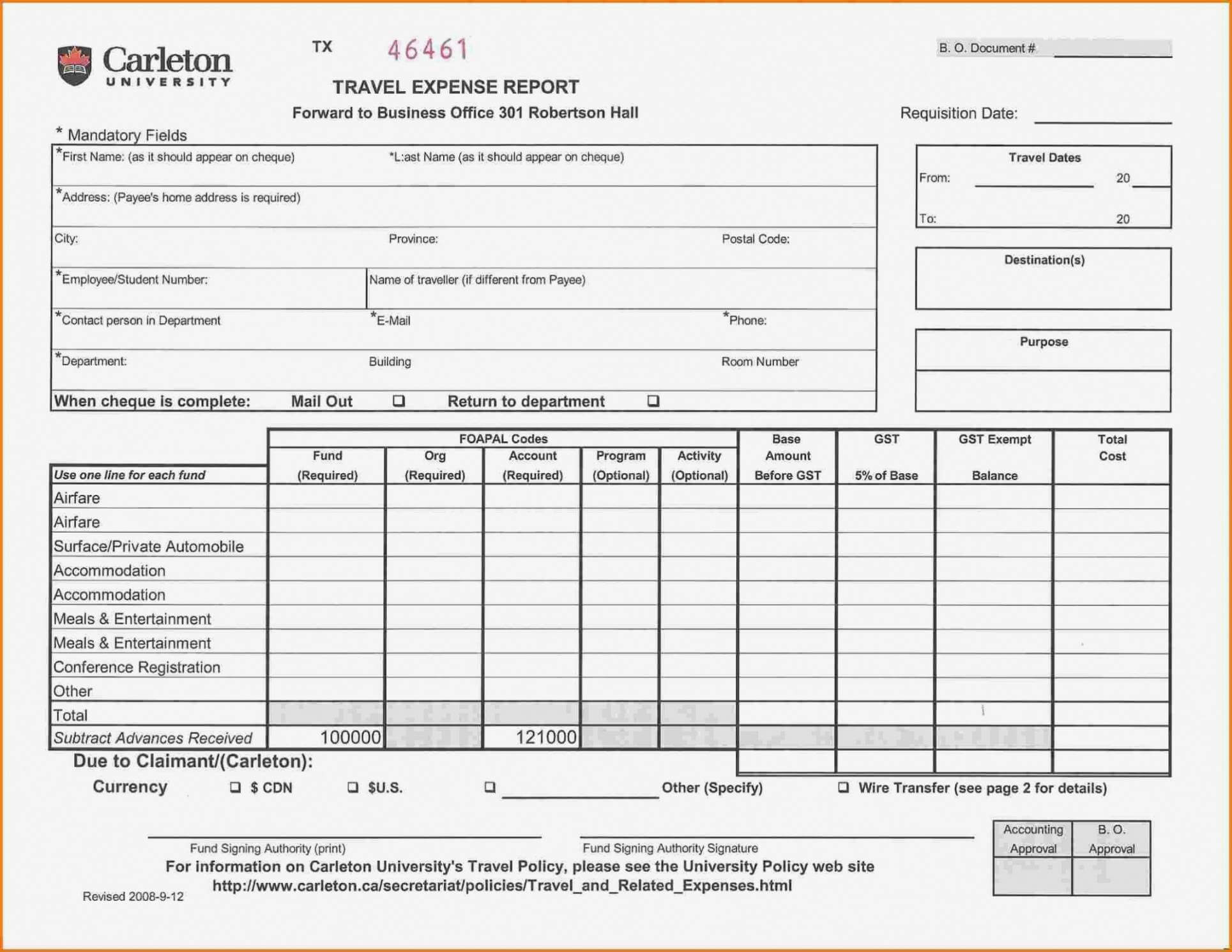 Printable Air Balance Report Form Mersnproforum Form With Air Balance Report Template