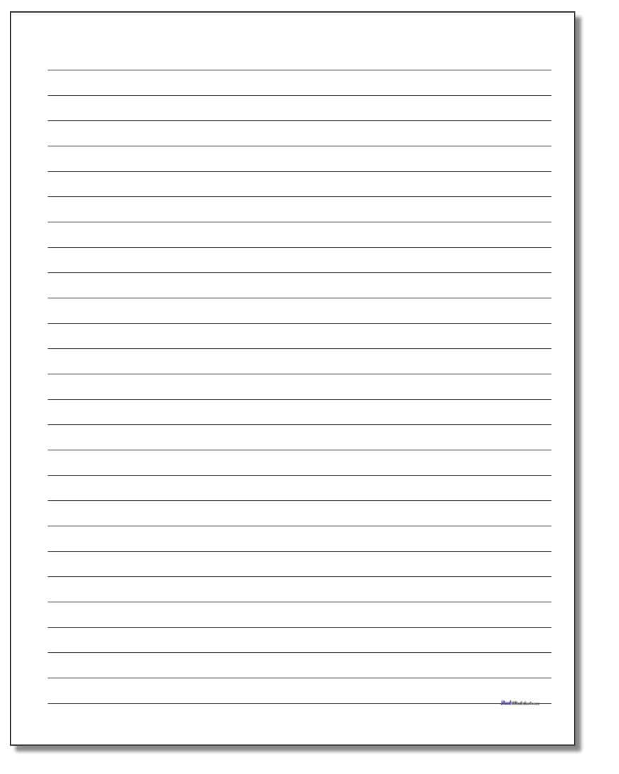 Printable Blank Lined Paper – Tunu.redmini.co Intended For Ruled Paper Word Template
