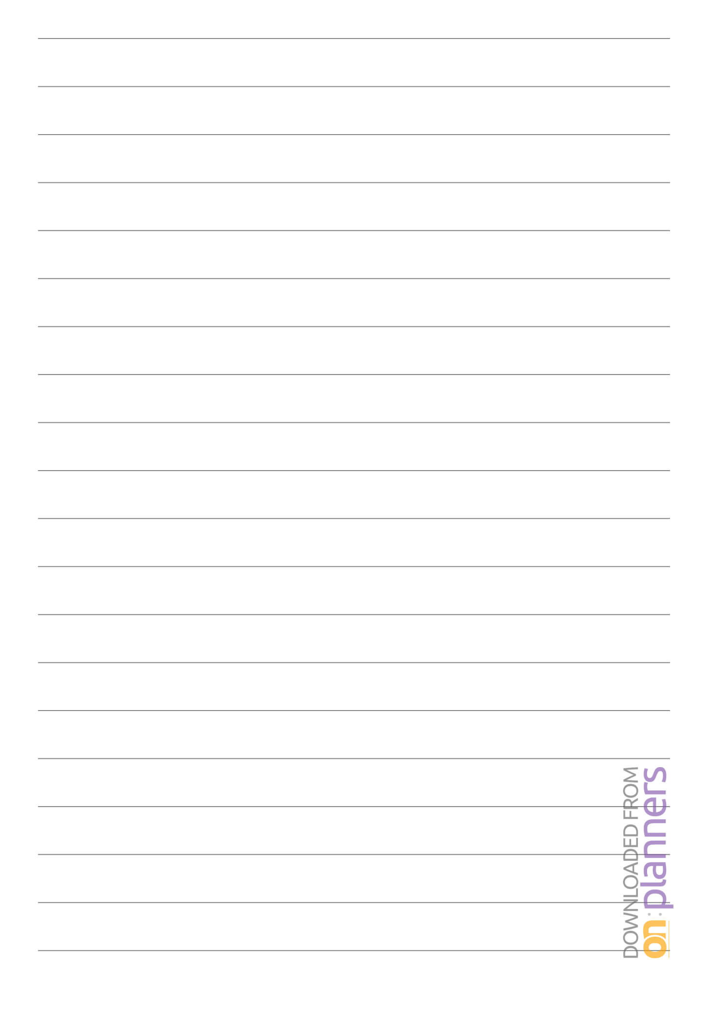 Printable Blank Lined Paper – Tunu.redmini.co Pertaining To Microsoft Word Lined Paper Template