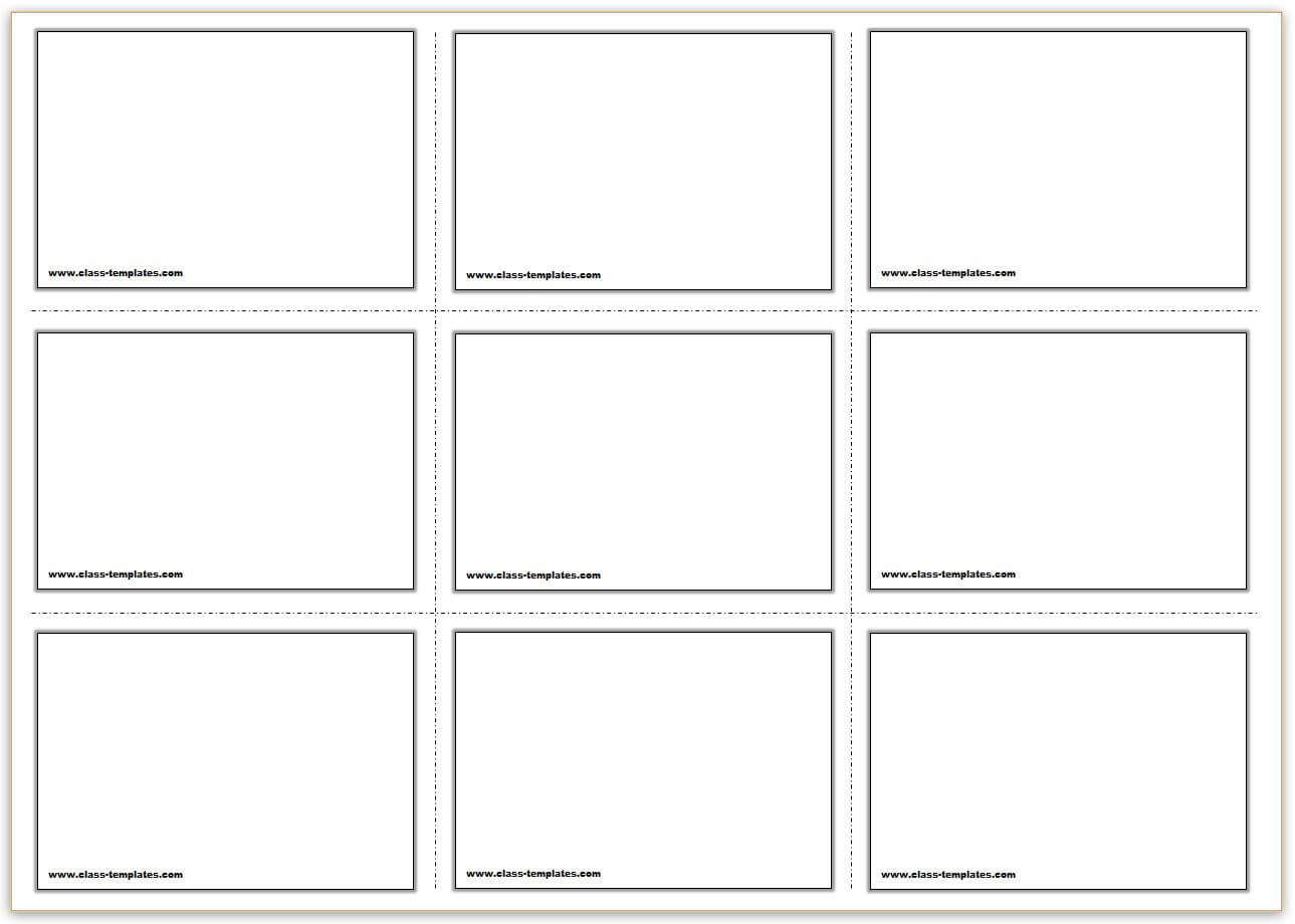 Printable Flash Card Template Fresh Vocabulary Flash Cards In Flashcard Template Word
