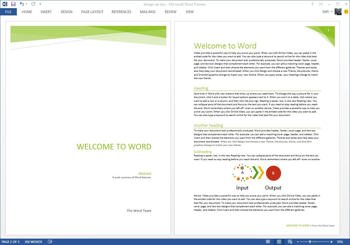 Professional Document Templates - Colona.rsd7 Throughout Google Word Document Templates