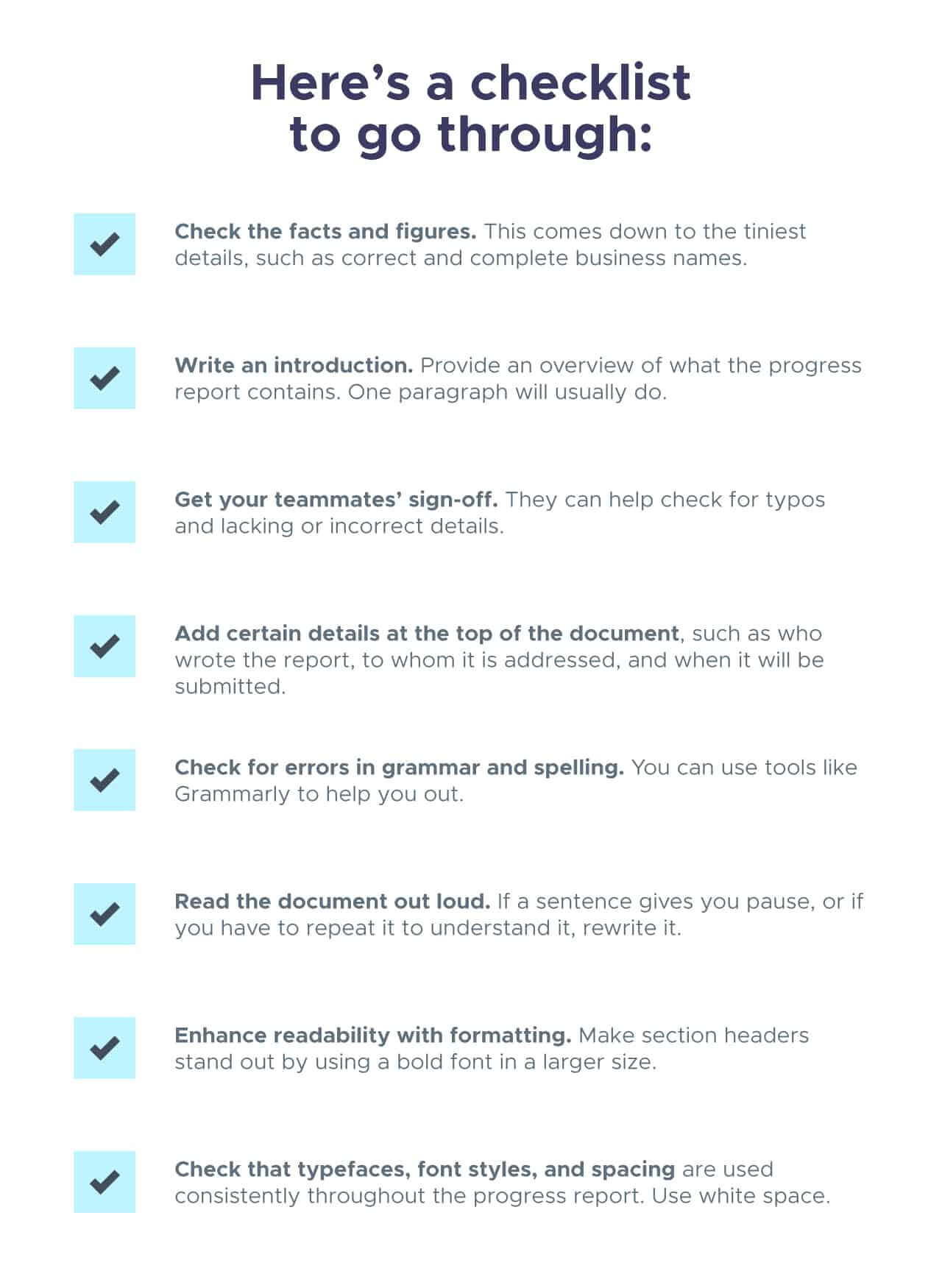 Progress Report: How To Write, Structure And Make It Throughout Report Content Page Template