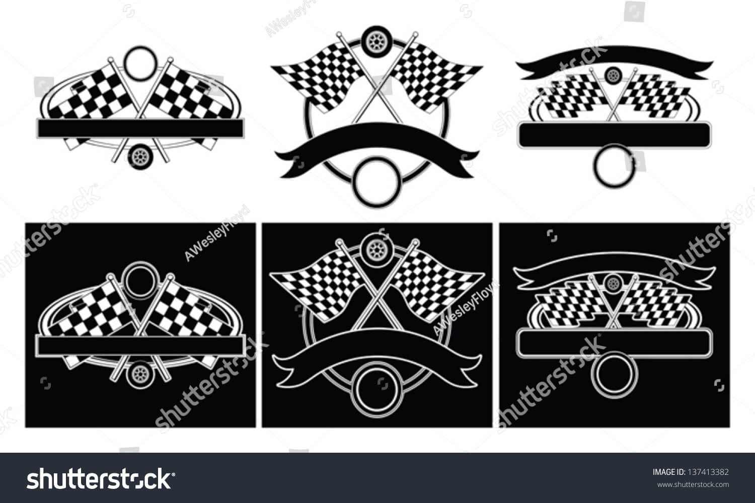 Racing Design Templates Illustration Designs Car Stock Intended For Blank Race Car Templates