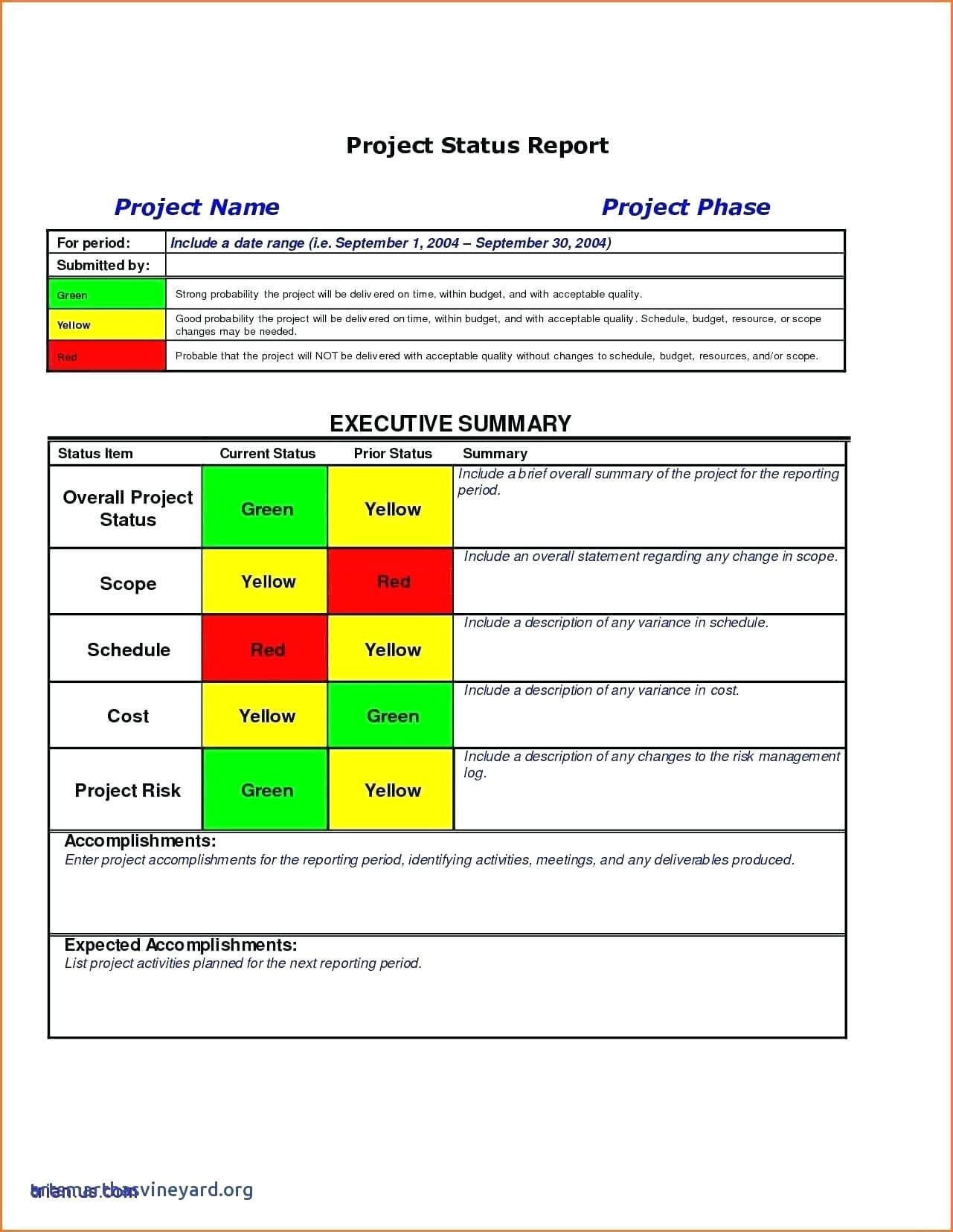 Report Examples Project Status Sample Template Excel For Project Status Report Template Excel Download Filetype Xls