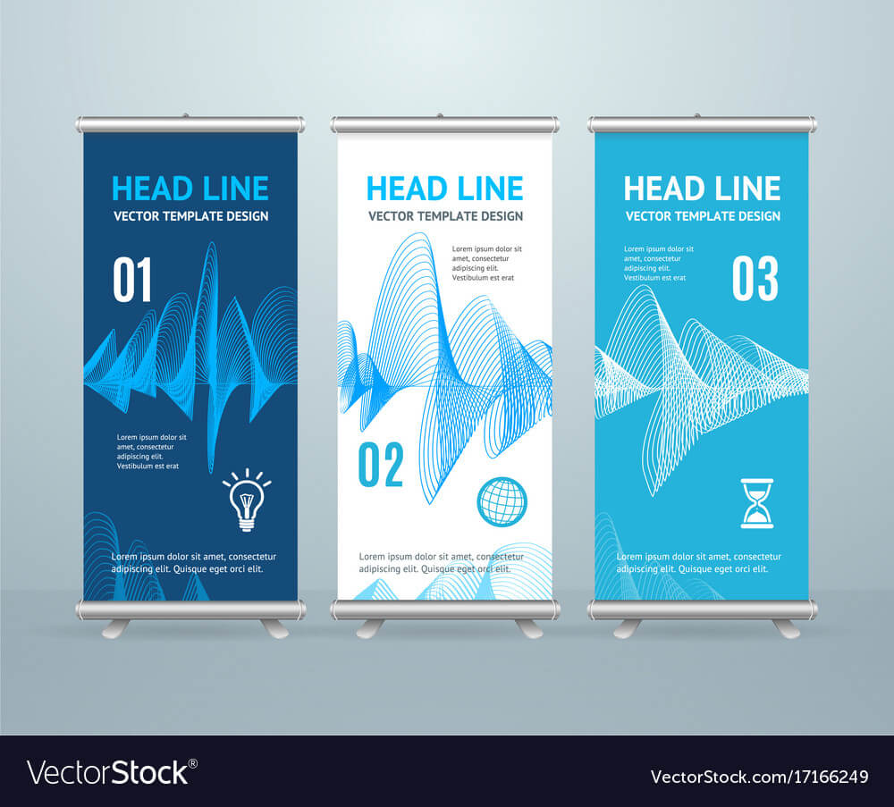 Roll Up Banner Stand Design Template In Banner Stand Design Templates