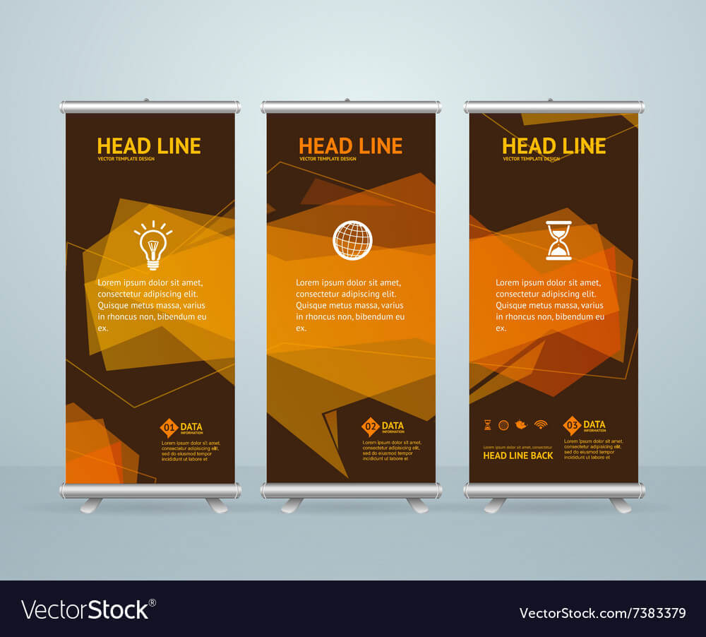 Roll Up Banner Stand Design Template Intended For Banner Stand Design Templates