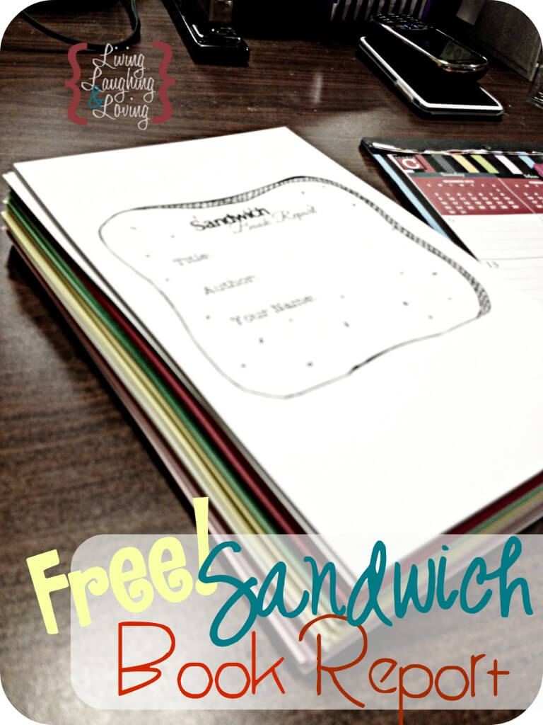 Sandwich Book Report ] - Sandwich Book Report Project With Sandwich Book Report Printable Template