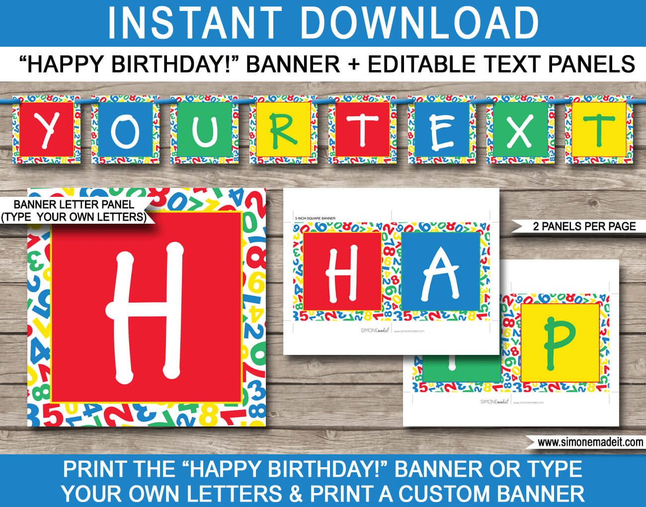 Sesame Street Party Banner Template In Sesame Street Banner Template