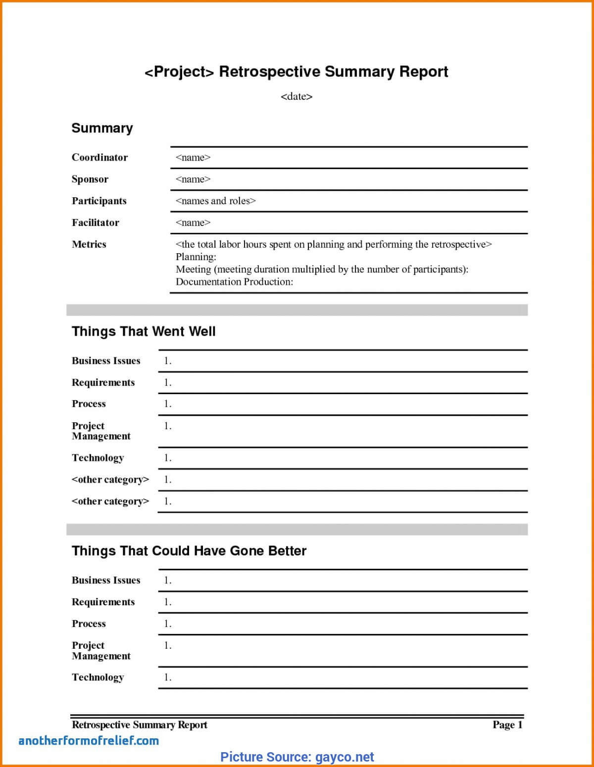 Simple Project Lessons Learnt Template Lessons Learnt Report In Lessons Learnt Report Template