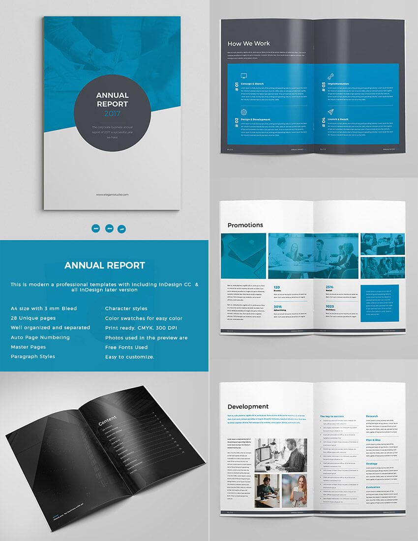 Singular Free Annual Report Template Indesign Ideas Download Intended For Free Indesign Report Templates