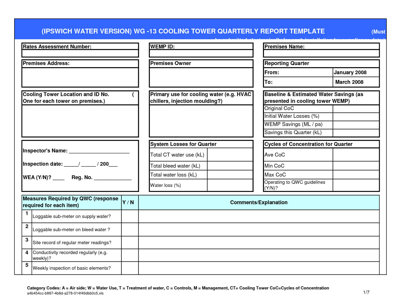 Small Business Excel Report Template Intended For Quarterly Report Template Small Business