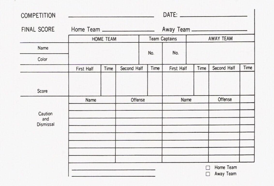 Soccer Report Card Template ] - Stat Sheet Template 7 Free Regarding Soccer Report Card Template