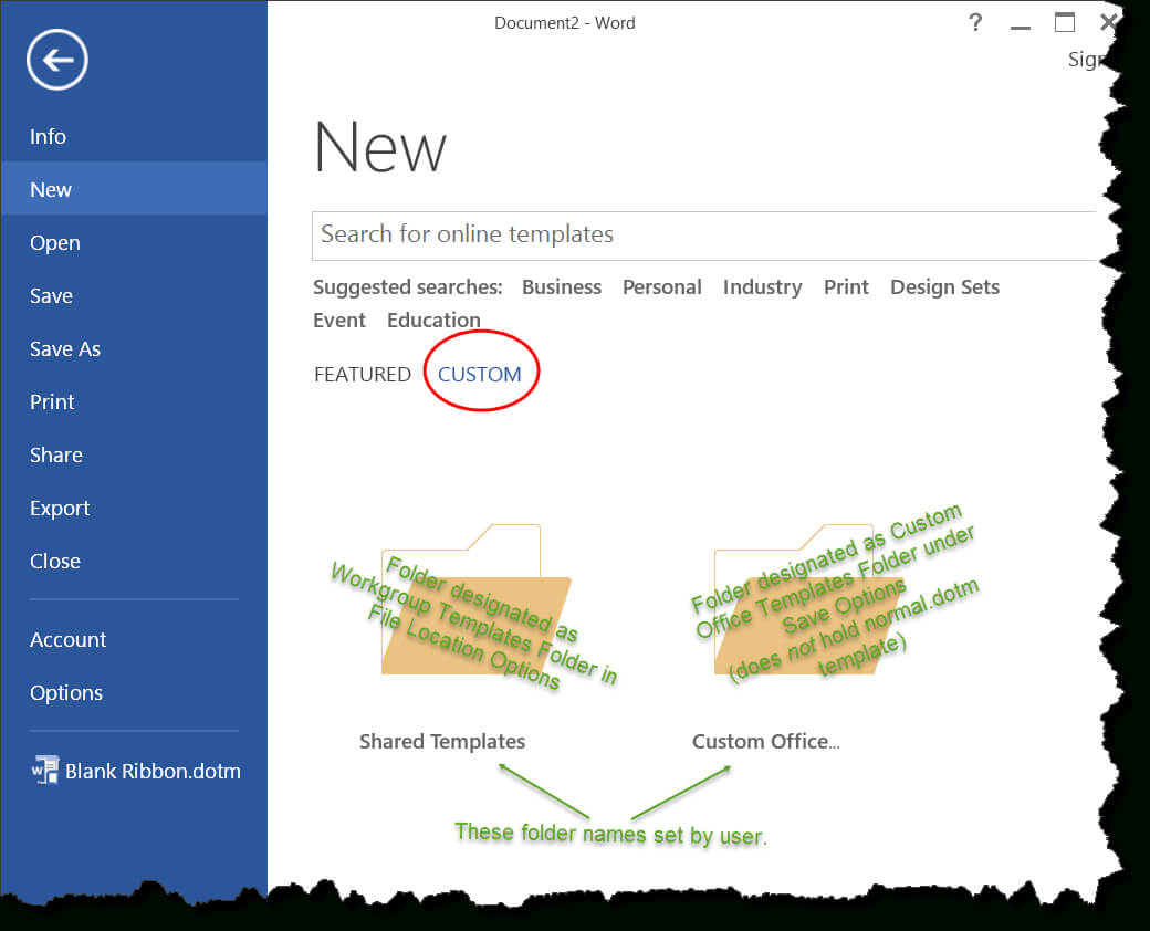 Templates In Microsoft Word - One Of The Tutorials In The For How To Use Templates In Word 2010