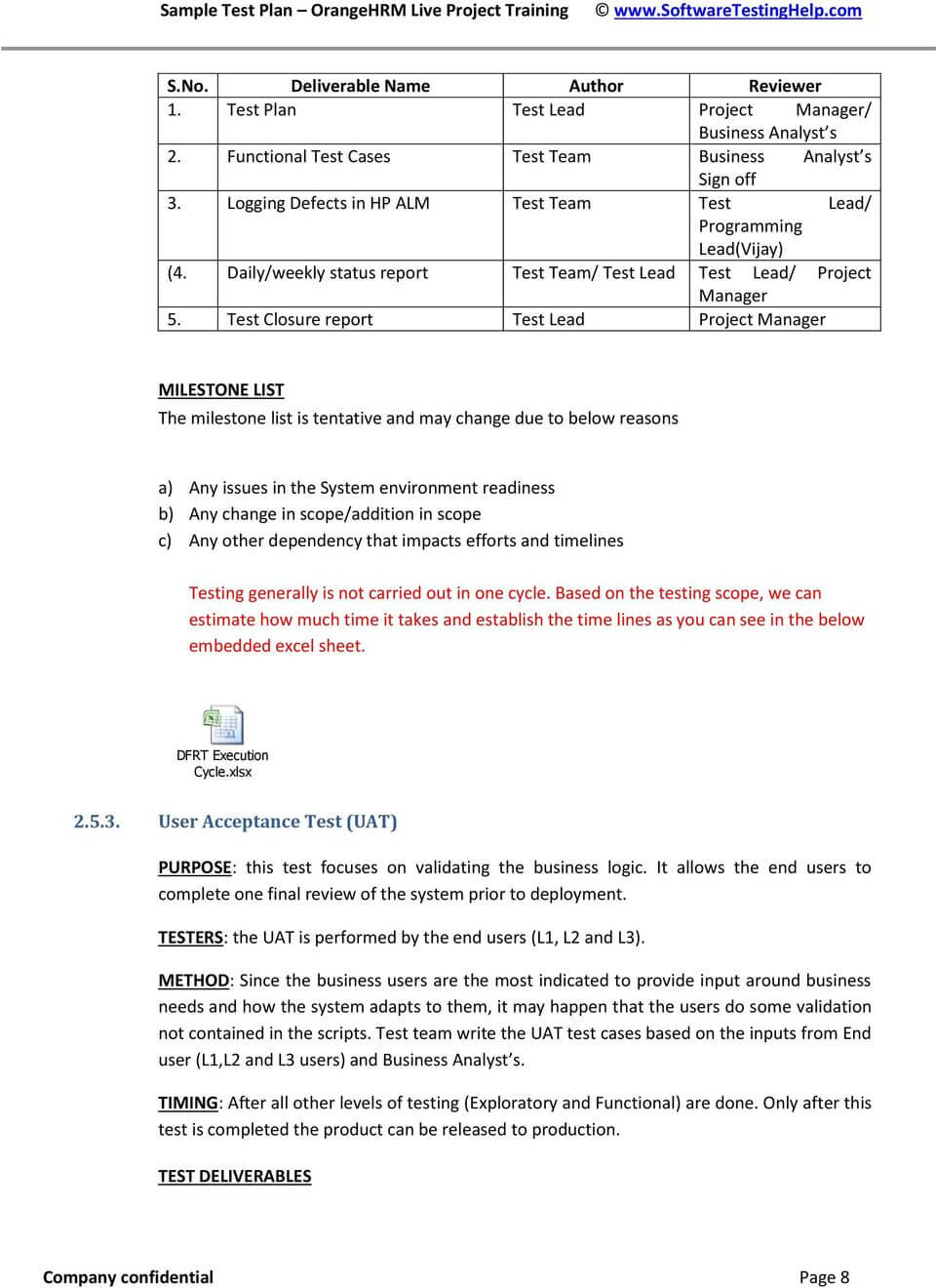 Test Closure Report Template ] - An Effective Test Summary For Test Exit Report Template