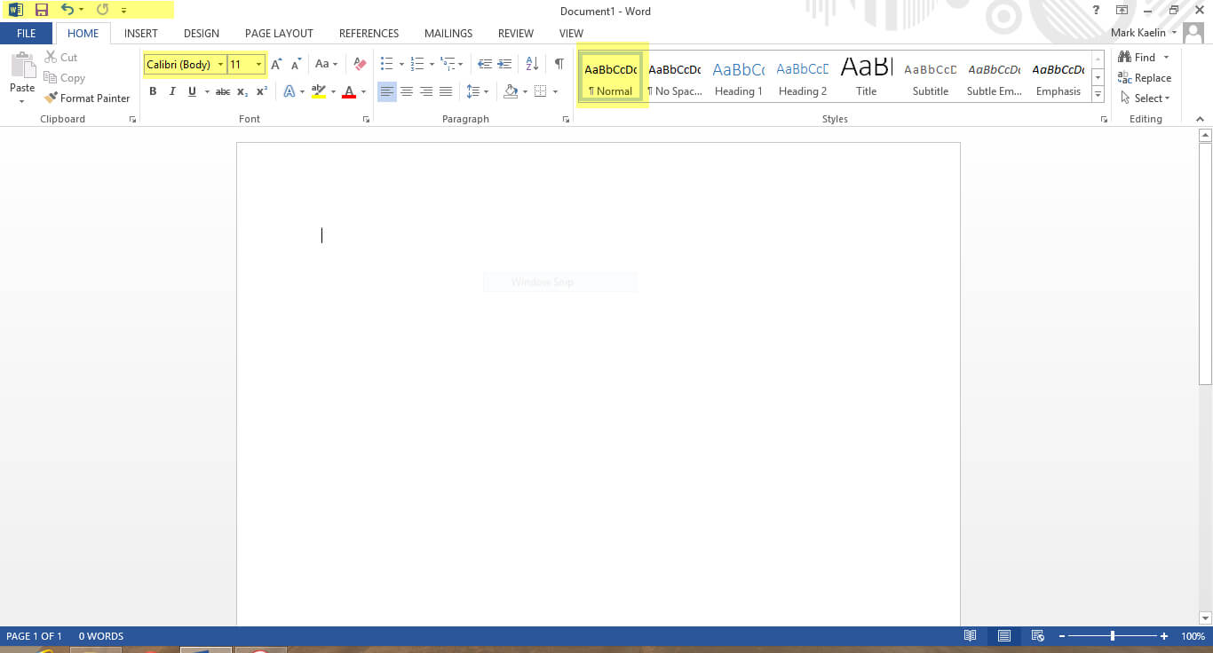 The First Nine Things I Do To Default Settings In Word 2013 Intended For Name Tag Template Word 2010