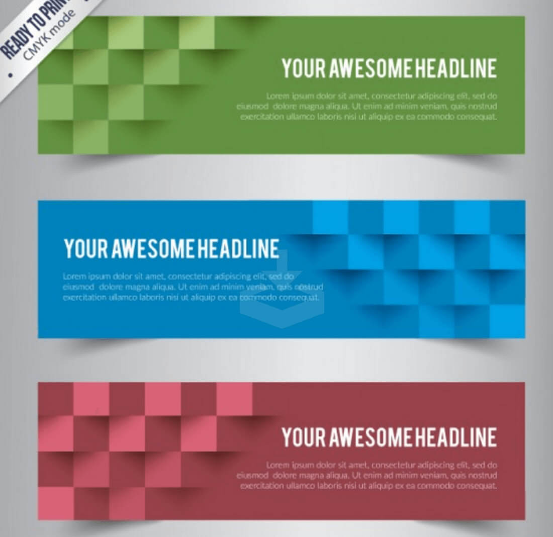 Top 20+ Free Banner Templates In Psd And Ai In 2019 - Colorlib Regarding Website Banner Templates Free Download
